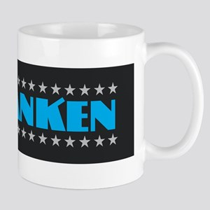 Al Franken Sticker Mugs