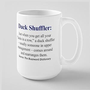 Left-handed Duck Shuffler Mug