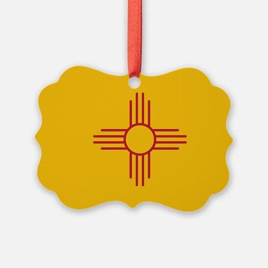newmexicoflagplainbanner42x28.png Ornament