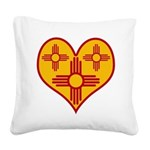nmziaheart Square Canvas Pillow