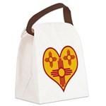 nmziaheart Canvas Lunch Bag
