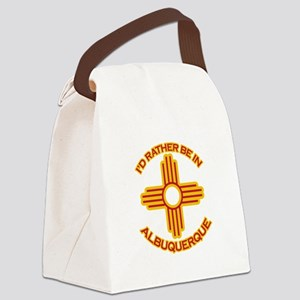 idratherbein-albuquerque Canvas Lunch Bag
