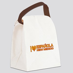 izialove-espanola-nm Canvas Lunch Bag