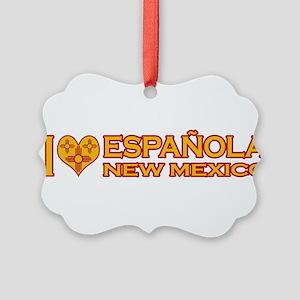 izialove-espanola-nm Picture Ornament
