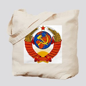 Soviet Union Coat of Arms Tote Bag