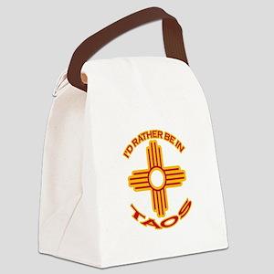 idratherbein-taos Canvas Lunch Bag