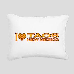 izialove-taos-nm Rectangular Canvas Pillow