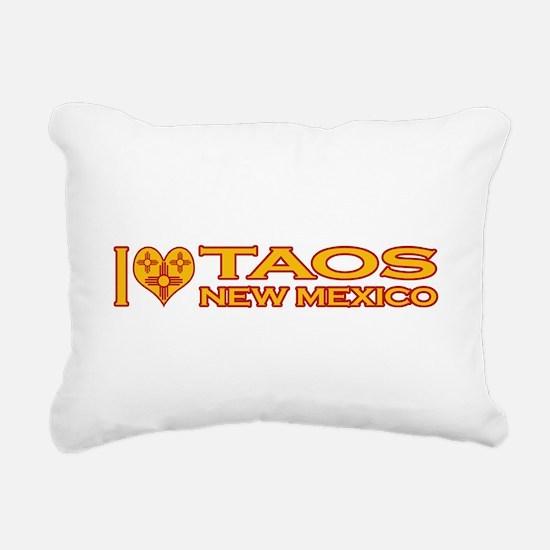 izialove-taos-nm.png Rectangular Canvas Pillow