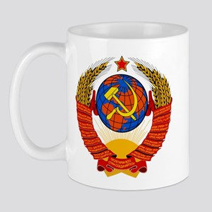 Soviet Union Coat of Arms Mug