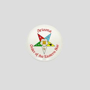Arizona Eastern Star Mini Button