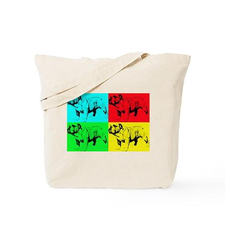 Pop Bulldog2 Tote Bag