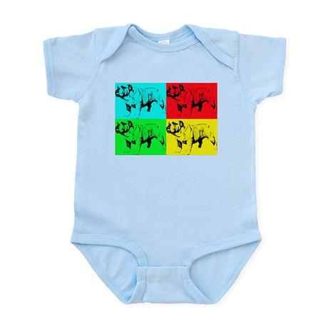 Pop Bulldog2 Infant Bodysuit