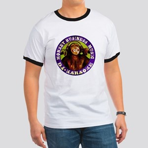 Monkey Business Music Logo Ringer T