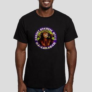 Monkey Business Music Logo Men's Fitted T-Shirt (d