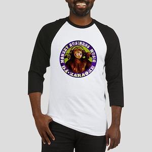 Monkey Business Music Logo Baseball Jersey