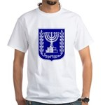 Israel Coat of Arms White T-Shirt