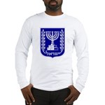 Israel Coat of Arms Long Sleeve T-Shirt