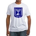 Israel Coat of Arms Fitted T-Shirt