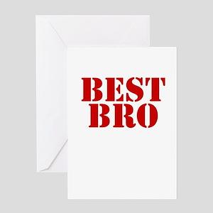 Best Bro Greeting Card