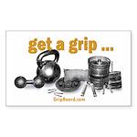 getagripfront Sticker (Rectangle 10 pk)