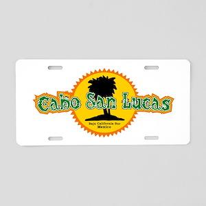 Cabo San Lucas Sun Aluminum License Plate
