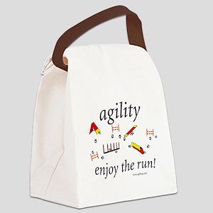 enjoytherun Canvas Lunch Bag