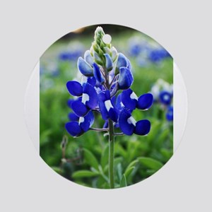 Lonestar Bluebonnet Ornament (Round)