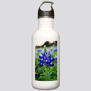 Lonestar Bluebonnet Stainless Water Bottle 1.0L