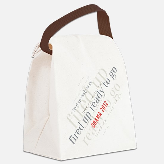 Fired up ready to go Canvas Lunch Bag