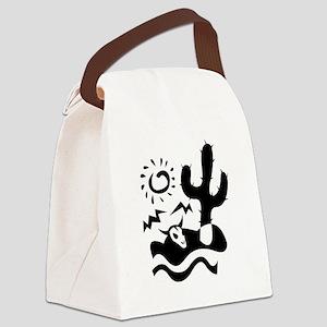 CACTUS_092 Canvas Lunch Bag