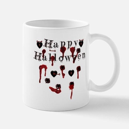 Happy Halloween gunbloodshot.png Mug