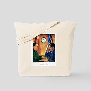 """Nixon GOes to China"" Tote Bag"
