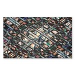Economic Art Sticker (Rectangle 50 pk)