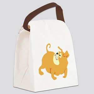 0_dog024 Canvas Lunch Bag