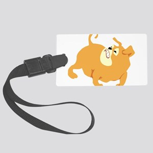 0_dog024 Large Luggage Tag