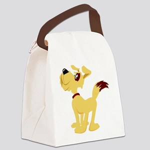 0_dog020 Canvas Lunch Bag