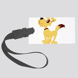 0_dog020 Large Luggage Tag