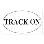 Track On Sticker (Rectangle 10 pk)