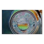 One headlight Sticker (Rectangle 10 pk)