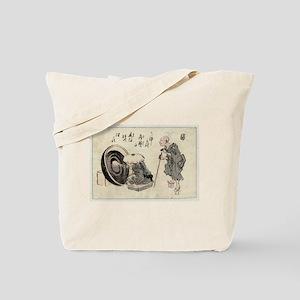Zato and a lacquer craftsman - Anon - 1846 Tote Ba