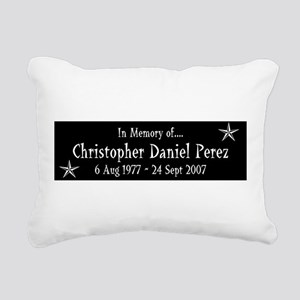 CDP10Y1WHT Rectangular Canvas Pillow