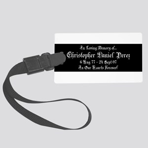 CDP2Z1BLK Large Luggage Tag