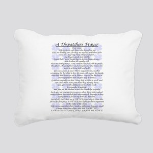DISPATCHERS PRAYER Rectangular Canvas Pillow