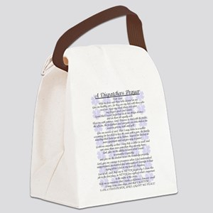 DISPATCHERS PRAYER Canvas Lunch Bag