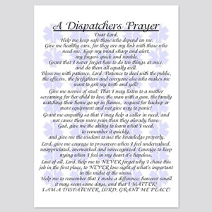 DISPATCHERS PRAYER 5x7 Flat Cards