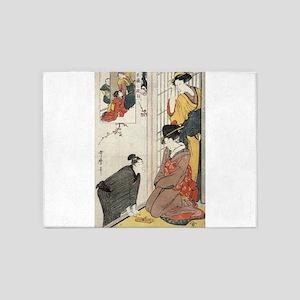 Act Two From the Chushingura - Utamaro Kitagawa -