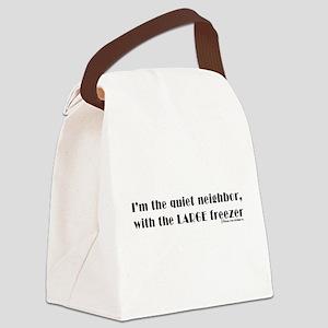 FREEZER1BLK1 Canvas Lunch Bag