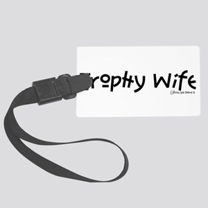 TROPHY_A22 Large Luggage Tag
