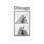 Chicago Lights Sticker (Rectangle 10 pk)
