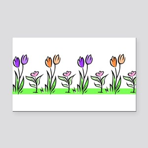 j0398227_tulips pastel Rectangle Car Magnet